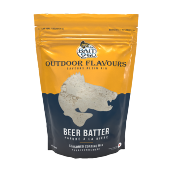 Outdoor Flavors Beer Batter Seasoned Coating Mix