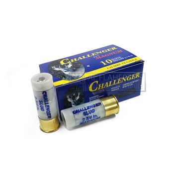 "Challenger Challenger Ammo, 12ga 2-3/4"" 1-1/8oz Rifled Slug"