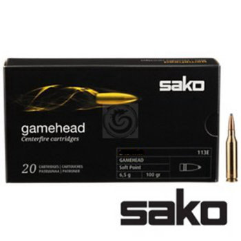 Sako Gamehead 22-250 Rem 55 Gr Soft Point Ammunition Box Of 20