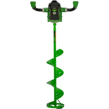 "Eskimo Ion 8"" Power Auger w/3Amp Battery"