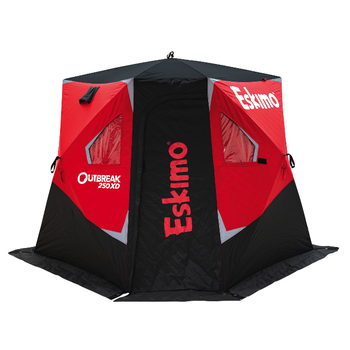 Eskimo Outbreak 250XD Wide-Bottom Pop-Up Shelter 2-3 Man
