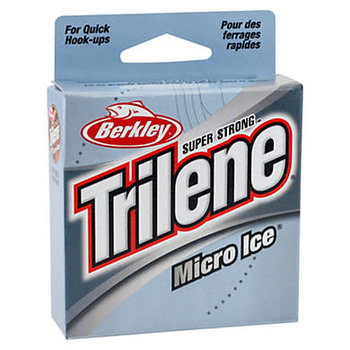 Trilene Micro Ice Mono. 4lb 110yd. Clear Steel