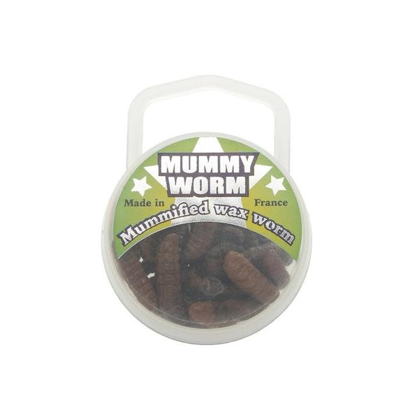 Euro Tackle Mummy Worm Brown 35-pk