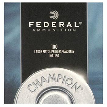 Federal Large Pistol Primers No 150 Per 100