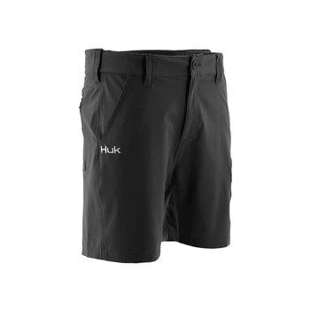 "Huk Next Level 7"" Short, Black, M (H2000040-001-M)"
