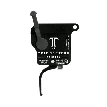 TriggerTech Remington 700 Primary Adjsutable (1.5 to 4 LBS) Single Stage Black Flat Trigger
