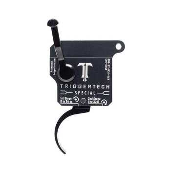 TriggerTech Remington 700 Special Pro  Adjustable (1.0 to 3.5 LBS) Two Stage Curved Trigger