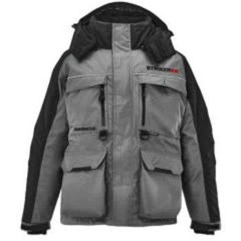 Striker Striker Ice Men's Hardwater Jacket, Gray/Black, M