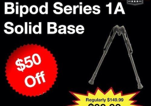 Harris High Bipod Series 1A Solid Base