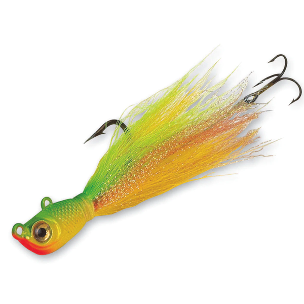 Northland Bionic Bucktail Jig 1oz Yellow Perch