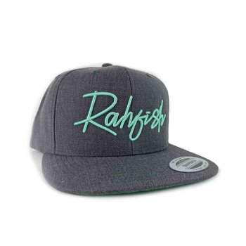 RahFish Easy Street Flat Brim Cap, Dark/Heather