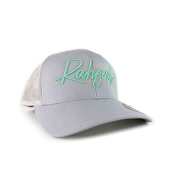 RahFish Easy Street Trucker Cap, Light Grey/Heather