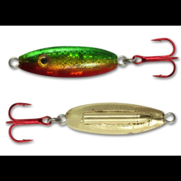 Northland Buck-Shot Rattle Spoon 1/16oz Golden Perch