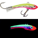 Moonshine Lures Shiver Minnow #3 Holographic Crazy Clown
