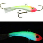 Moonshine Lures Fat Bottom Shiver Minnow #2.5 Blue Clown