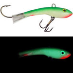Moonshine Lures Shiver Minnow #1 Yellow Tail