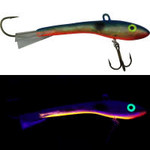 Moonshine Lures Shiver Minnow #2 Holographic BT Shad