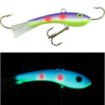 Moonshine Lures Fat Bottom Shiver Minnow #2.5 JJ Mac Muffin