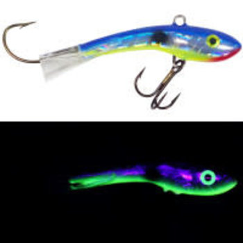 Moonshine Lures Shiver Minnow #2.5 Holographic Shiver Shad