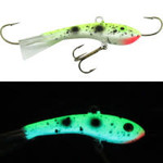 Moonshine Lures Fat Bottom Shiver Minnow #1 Yeller Goby