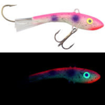 Moonshine Lures Shiver Minnow #2.5 Pink Goby