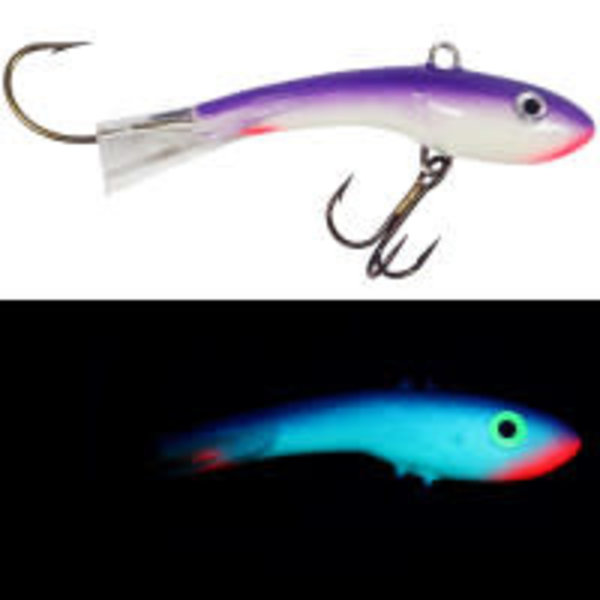 Moonshine Lures Shiver Minnow #2.5 Red Grape