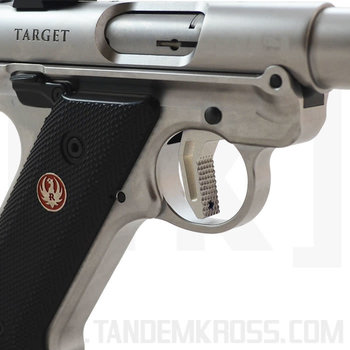 Tandemkross Victory Trigger for Ruger MKIV, Silver