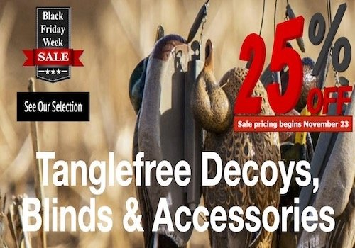 Tanglefree Decoys, Binds & Accessories