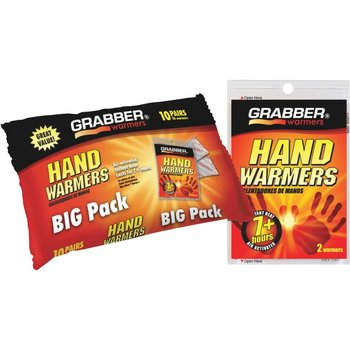 Grabber Big Pack Hand Warmers. 10-pk