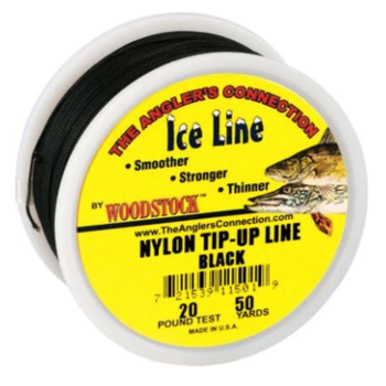 Woodstock Vinyl Black Ice Line 20lb 50yds