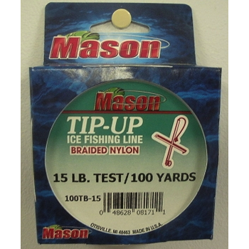 Mason Ice Fishing Braided Line 25lbs 100yds