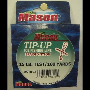 Mason Ice Fishing Braided Line 20lbs 100yds
