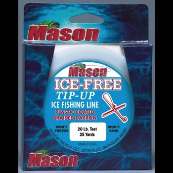 Mason Ice-Free Tip-Up Line 20lb 100yds