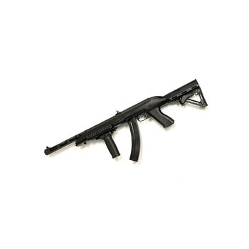 Pietta PPS-50 Wildcat 22 LR Semi Auto Black  Synthetic