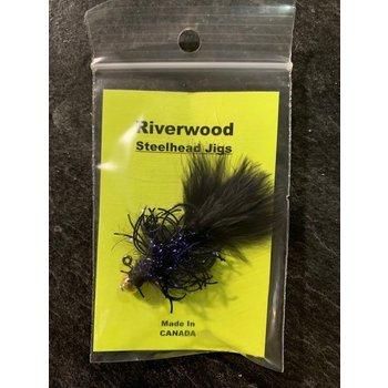 Riverwood Tarantula Steelhead Jig Black