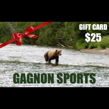Gagnon Sports $25.00 Gift Card