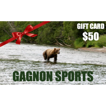 Gagnon Sports $ 50.00 Gift Card