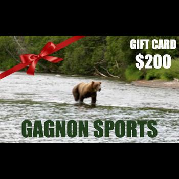 Gagnon Sports $200.00 Gift Card