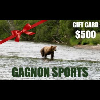 Gagnon Sports $500.00 Gift Card