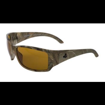 SpiderWire Hide N Eek Polarized Sunglasses. Matte Camo/Amber SSGHEMCA-HA