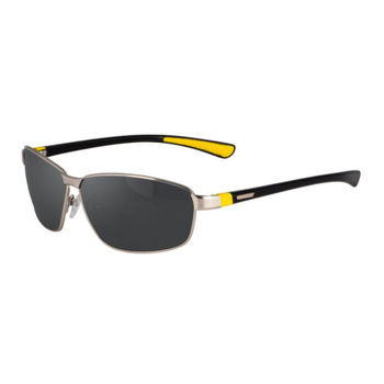 SpiderWire SP007 Polarized Sunglasses. Silver/Smoke SPW007SLVSMK