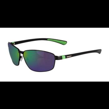 SpiderWire SP007 Polarized Sunglasses. Black/Copper/Green Mirror SPW007BLKCOPGRN
