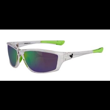 SpiderWire SPW008 Polarized Sunglasses. Clear Green SPW008CLRCOPGRN