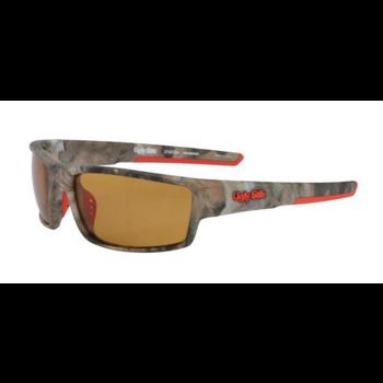 Shakespeare Ugly Stik Spartan Polarized Sunglasses. Matte Camo/Amber USSPARTANMCBLZA