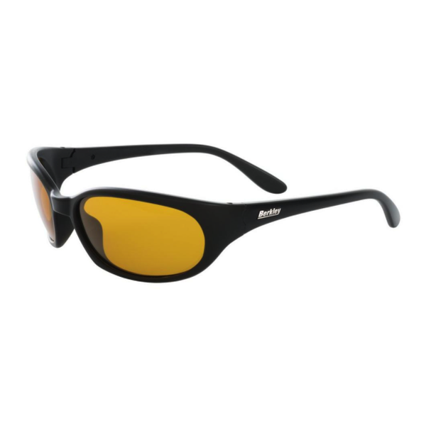 Berkley Eufaula Polarized Sunglasses. Black Matte/Amber BSEUFAMBA-H