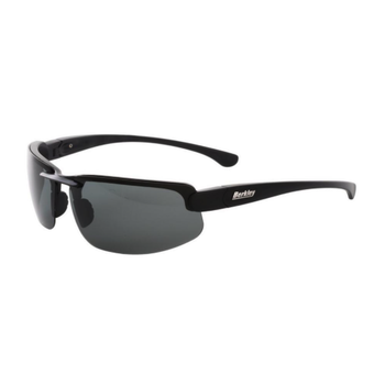 Berkley Boone Polarized Sunglasses. Matte Black/Smoke BSBOONMBS-H