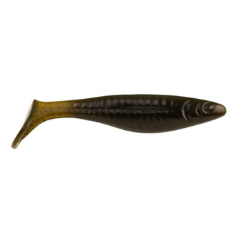 "PowerBait The Champ Swimmer 4.6"" Green Pumpkin 5-pk"