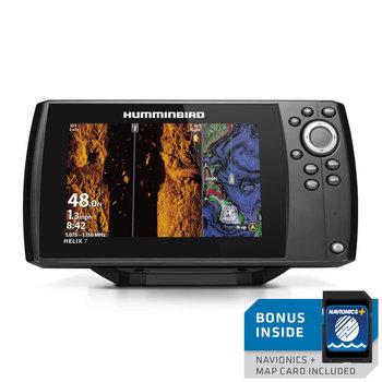 Humminbird Helix 7 CHIRP Mega SI GPS G3 w/Navionics Card