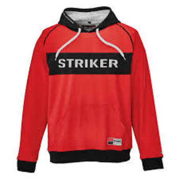Striker Knockout Hoody Red XL
