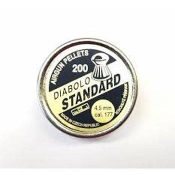 Diabolo Diabolo Stabdard 4.5mm cal .177 pellets  Qty 200